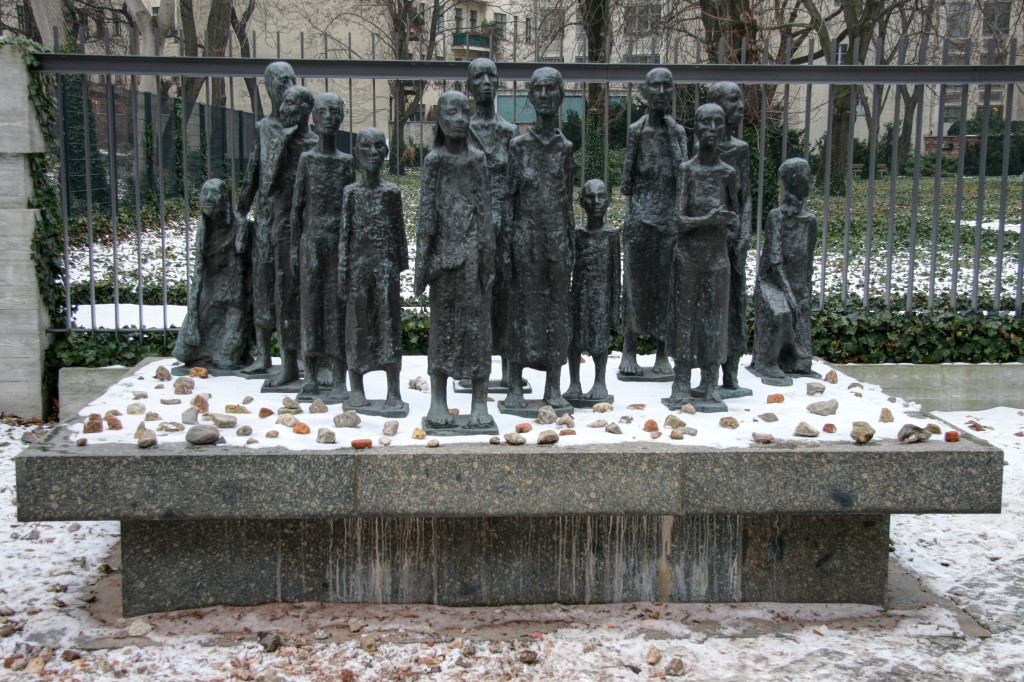 Sculpture by Will Lammert at the Alter Jüdischer Friedhof in Berlin