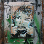 Pulling Faces: Street Art by AliCé (Alice Pasquini) in Berlin