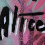 AliCé Signature: Street Art by AliCé (Alice Pasquini) in Berlin