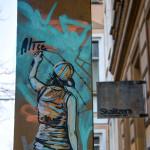Spray My Name: Street Art by AliCé (Alice Pasquini) in Berlin