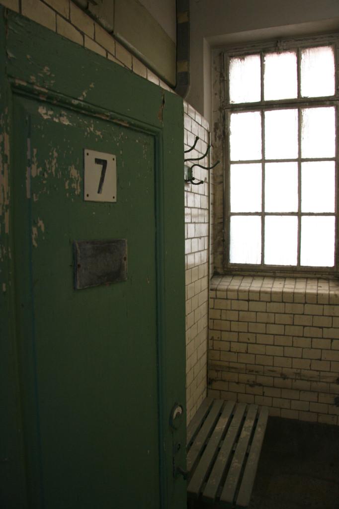 Changing Room Number 7 at Stadtbad Prenzlauer Berg in Berlin