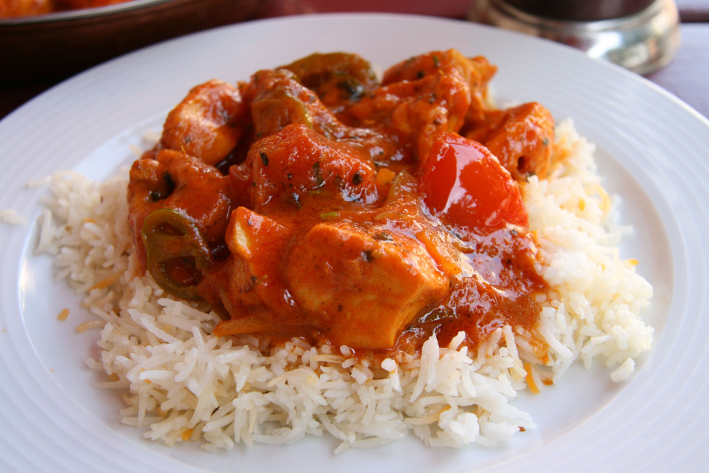 The Chicken Tikka Masala at Aapka Indisches (Indian) Restaurant in Prenzlauer Berg, Berlin