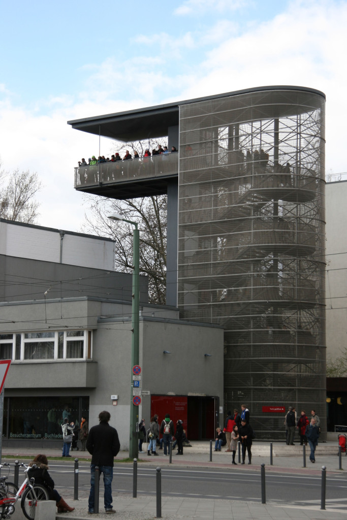 The Documentation Centre and Viewing Platform at Gedenkstätte Berliner Mauer (Berlin Wall Memorial) on Bernauer Strasse