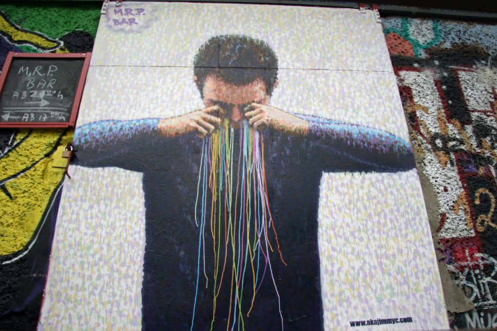 The Artist's Tears: Street Art by Jimmy C in Berlin