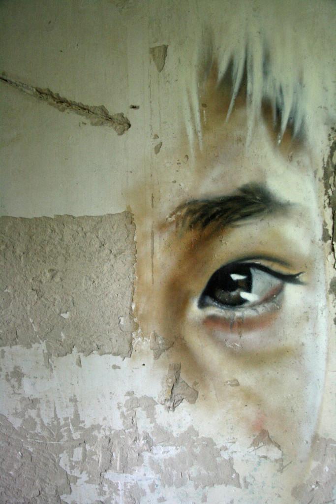 Street Art by Matt Adnate at the Kaserne Krampnitz - a former Nazi/Soviet Military base near Berlin