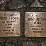 Stolpersteine 10: In memory of Helene Becker and Erika Becker (Stargarder Strasse 6) in Berlin