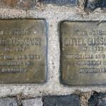 Stolpersteine 12: In memory of Ruth Sussmann and Gittel Sussmann (Christinenstrasse 35) in Berlin