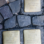 Stolpersteine 17: In memory of Anita Bukofzer, Ury Davidsohn, Paula Davidsohn (Entrance to Die Hackesche Höfe – Rosenthaler Strasse) in Berlin