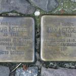 Stolpersteine 20: In memory of Oskar Metzger, Max Metzger (Sophienstrasse 22) in Berlin