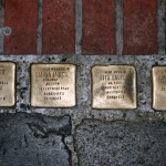 Stolpersteine 25: In memory of Judel Laufer, Czarna Laufer, Rita Laufer and Margot Laufer (Neue Schönhauser Strasse 10) in Berlin