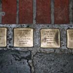 Stolpersteine 25: In memory of Judel Laufer, Czarna Laufer, Rita Laufer and Margot Laufer (Neue Schönhauser Strasse 10) in Berlin
