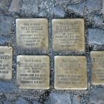 Stolpersteine 26: In memory of Wolf Teller, Betty Teller, Gertrud Mannheim, Rosalie Hammer, Else Meyer and Lilli Verschliesser (Winsstrasse 14) in Berlin