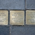 Stolpersteine 30: In memory of Gustav Simon, Margot Simon and Margarete Simon (Immanuelkirchstrasse 32) in Berlin