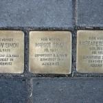 Stolpersteine 30: In memory of Gustav Simon, Margot Simon and Margarete Simon (Immanuelkirchstrasse 32) in Berlin