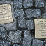 Stolpersteine 32: In memory of James Deutsch and Johanna Klum (Grosse Hamburger Strasse 31) in Berlin
