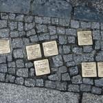 Stolpersteine 33: In memory of Emanuel Fink, Regina Fink, Max Raesener, Meta Raesener, Asta Raesener, Max Sittner, Melanie Sittner, Charlotte Wolff, Wolf Segal (Grosse Hamburger Strasse 30) in Berlin