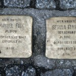 Stolpersteine 33 (2): In memory of Emanuel Fink and Regina Fink (Grosse Hamburger Strasse 30) in Berlin