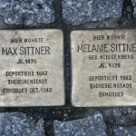 Stolpersteine 33 (4): In memory of Max Sittner and Melanie Sittner (Grosse Hamburger Strasse 30) in Berlin