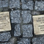 Stolpersteine 33 (5): In memory of Charlotte Wolff and Wolf Segal (Grosse Hamburger Strasse 30)