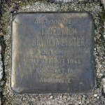 Stolpersteine 4: In memory of Friedrich Schulmeister (corner of Skalitzer Strasse and Oranienstrasse) in Berlin