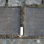 Stolpersteine 4 (3): In memory of Bertha Goldscmidt and Charlotte Birnbaum (corner of Skalitzer Strasse and Oranienstrasse) in Berlin
