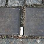 Stolpersteine 4 (3): In memory of Bertha Goldscmidt and Charlotte Birnbaum (corner of Skalitzer Strasse and Oranienstrasse) in Berlin