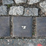 Stolpersteine 4 (4): In memory of Doris Birnbraum, Adolf Kraft and Martha Sorauer (corner of Skalitzer Strasse and Oranienstrasse) in Berlin