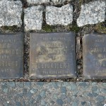 Stolpersteine 4 (5): In memory of Selma Goldschmidt, Channe Schumacher and Clara Levy (corner of Skalitzer Strasse and Oranienstrasse) in Berlin