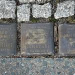 Stolpersteine 4 (5): In memory of Selma Goldschmidt, Channe Schumacher and Clara Levy (corner of Skalitzer Strasse and Oranienstrasse) in Berlin