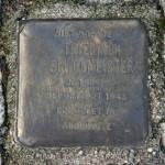 Stolpersteine 4: In memory of Friedrich Schulmeister (corner of Skalitzer Strasse and Oranienstrasse) in Berlin