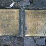Stolpersteine 5: In memory of Dr Georg Cohn and Frida Cohn (Oranienstrasse 34-35) in Berlin