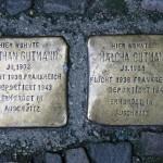 Stolpersteine 6: In memory of Nathan Gutmann and Malcha Gutmann (Raumerstrasse 21) in Berlin