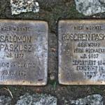Stolpersteine 8: In memory of Salomon Paskusz and Roschen Paskusz (Erich-Weinert-Strasse 17) in Berlin
