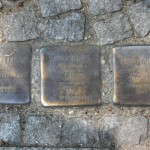 Stolpersteine 80: In memory of Manfred Krieger, Sara Krieger and Jakob Krieger (Corner of Oranienstrasse and Prinzenstrasse) in Berlin