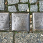 Stolpersteine 81: In memory of Moritz Silberblatt, Anna Bukofzer and Adolf Bukofzer (Oranienstrasse 120) in Berlin