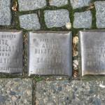 Stolpersteine 81: In memory of Moritz Silberblatt, Anna Bukofzer and Adolf Bukofzer (Oranienstrasse 120) in Berlin