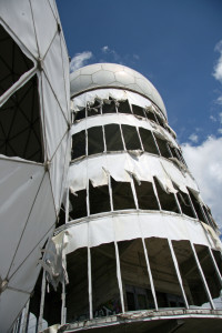 The tallest tower and dome at Teufelsberg