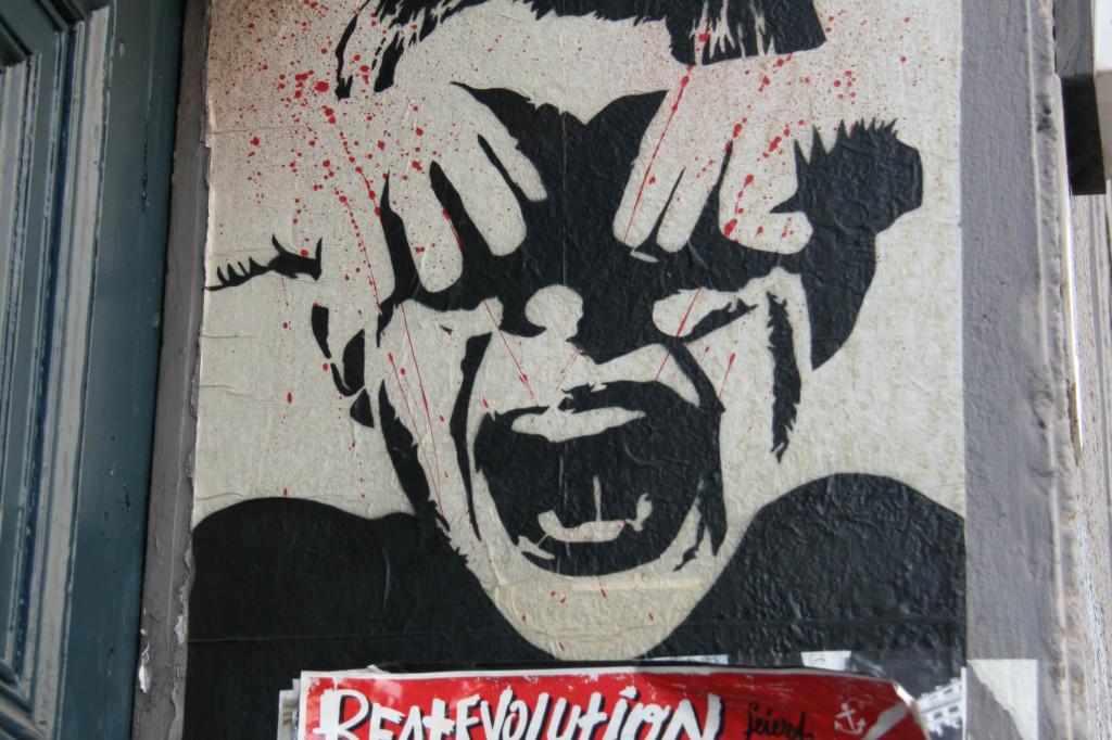 Blood n Tears: Street Art by ALIAS in Berlin