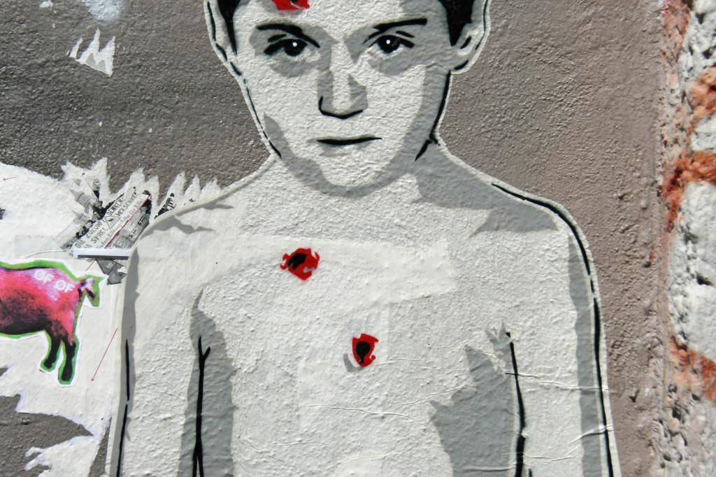 Body Body Head: Street Art by ALIAS in Berlin