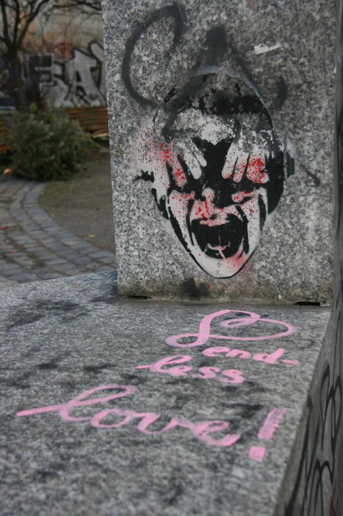 Eyes and Ears Are Bleeding: Street Art by ALIAS in Berlin