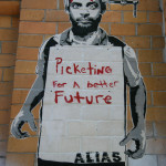 Picketing For A Better Future: Street Art by ALIAS in Berlin