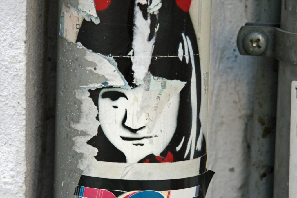 The Devil Child: Street Art by ALIAS in Berlin