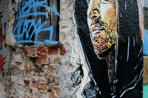 Berlin Street Art: C215 on Frankfurter Allee