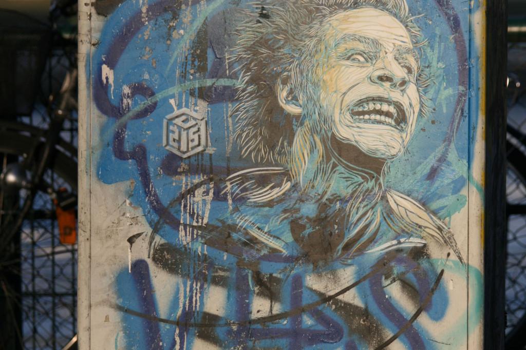 Manic in the Sun: Street Art by C215 in Berlin