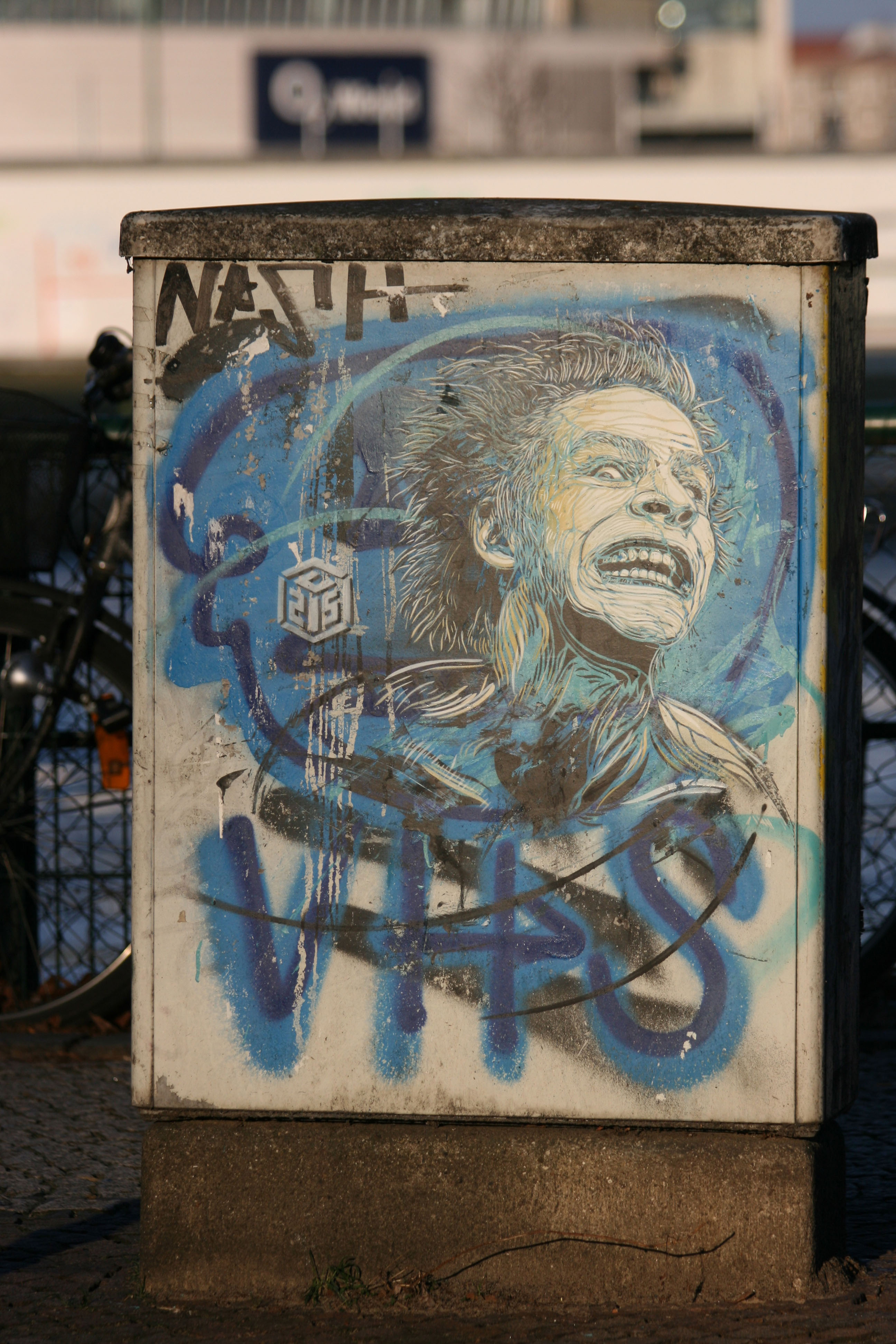 Manic in the Sun: Street Art by C215 in Berlin