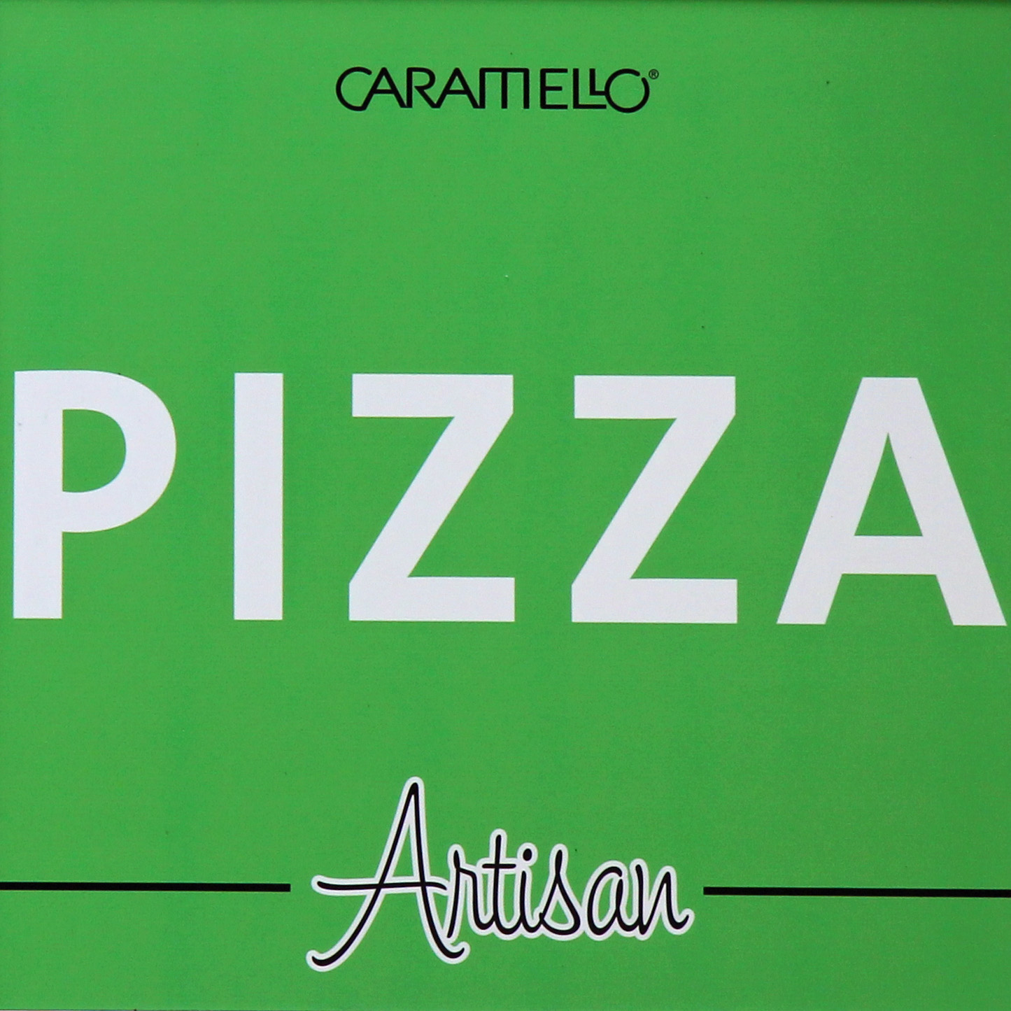The sign at Caramello, serving Pizza and Eis, in Prenzlauer Berg, Berlin