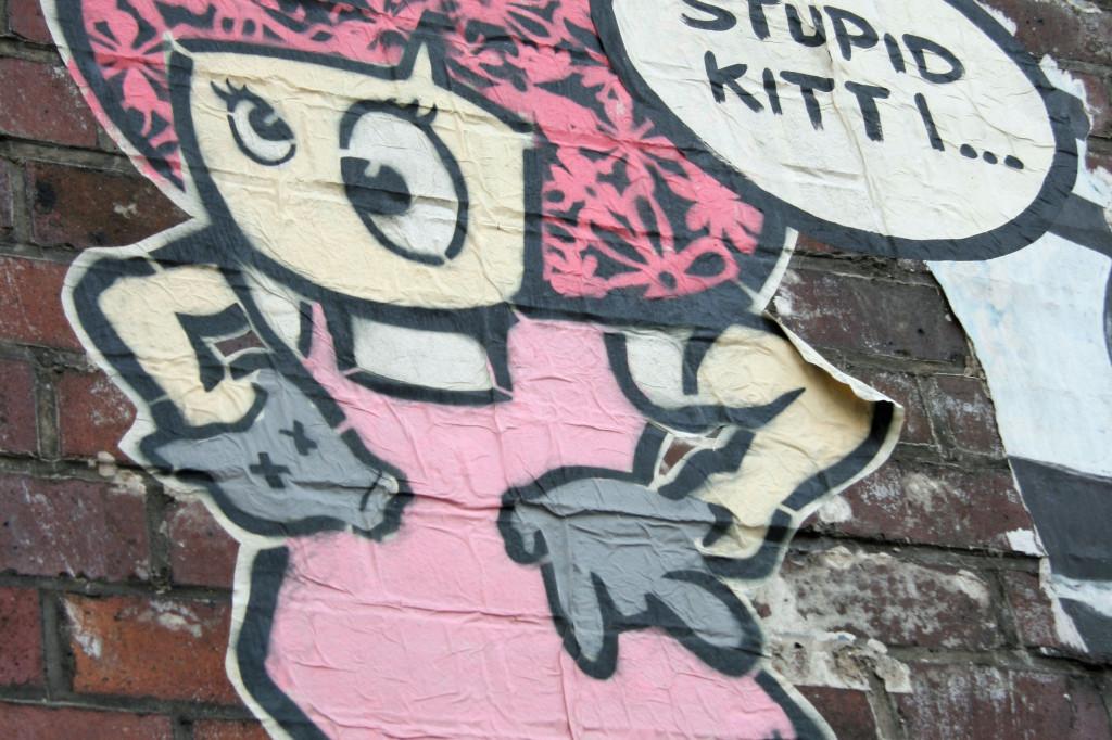Little Lucy 3: Street Art by El Bocho in Berlin