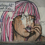 Sehnsucht Nach Paris: Street Art by El Bocho in Berlin