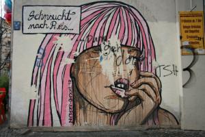 Sehnsucht Nach Paris: Street Art by El Bocho in Berlin
