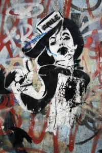 Usherette: Street Art by FAILE in Berlin